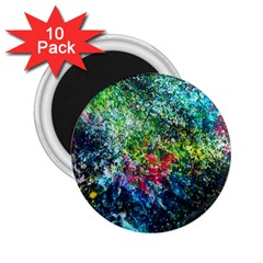 Raw Truth By Mystikka  10 Pack Regular Magnet (Round)