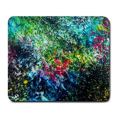 Raw Truth By Mystikka  Large Mouse Pad (rectangle)