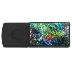Raw Truth By Mystikka  2Gb USB Flash Drive (Rectangle)