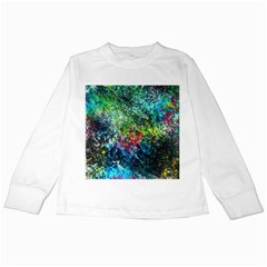 Raw Truth By Mystikka  White Long Sleeve Kids'' T Shirt