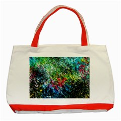Raw Truth By Mystikka  Red Tote Bag