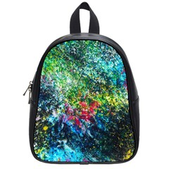 Raw Truth By Mystikka  Small School Backpack