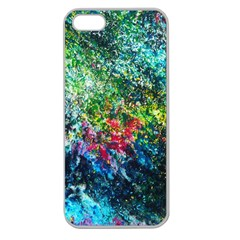 Raw Truth By Mystikka  Apple Seamless iPhone 5 Case (Clear)