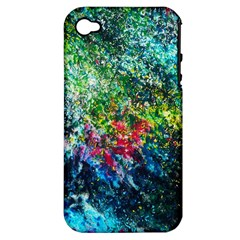 Raw Truth By Mystikka  Apple iPhone 4/4S Hardshell Case (PC+Silicone)