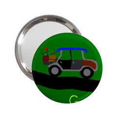 Gone Golfin Handbag Mirror