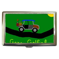 Gone Golfin Cigarette Box