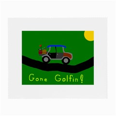 Gone Golfin Twin-sided Glasses Cleaning Cloth