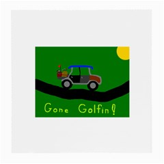 Gone Golfin Twin-sided Large Glasses Cleaning Cloth