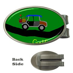 Gone Golfin Money Clip (oval)