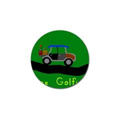 Gone Golfin Golf Ball Marker