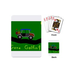 Gone Golfin Playing Cards (mini)