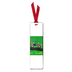Gone Golfin Small Book Mark