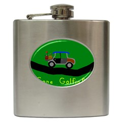 Gone Golfin Hip Flask