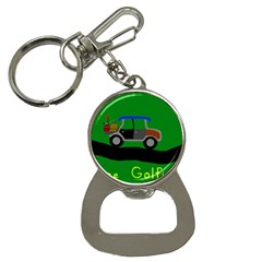 Gone Golfin Key Chain With Bottle Opener