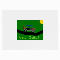 Gone Golfin Single-sided Handkerchief