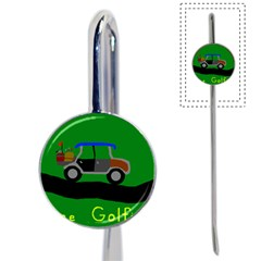 Gone Golfin Bookmark