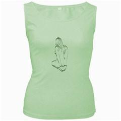 Bound Beauty Green Womens  T Shirt