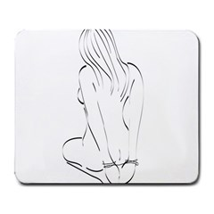 Bound Beauty Large Mouse Pad (Rectangle)