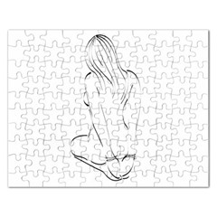 Bound Beauty Jigsaw Puzzle (Rectangle)