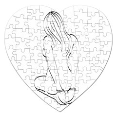 Bound Beauty Jigsaw Puzzle (heart)