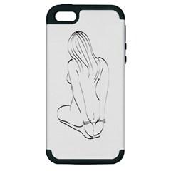 Bound Beauty Apple iPhone 5 Hardshell Case (PC+Silicone)