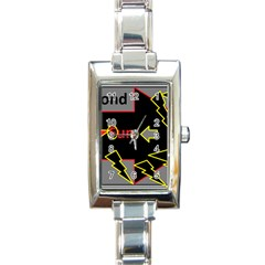 Raymond Fun Show 2 Classic Elegant Ladies Watch (Rectangle)