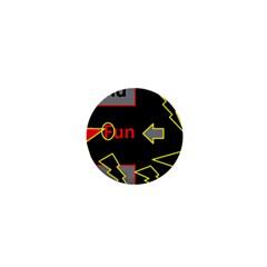 Raymond Fun Show 2 Mini Button (Round)