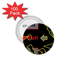 Raymond Fun Show 2 100 Pack Small Button (Round)