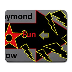 Raymond Fun Show 2 Large Mouse Pad (Rectangle)