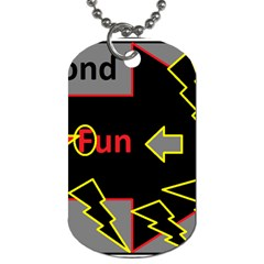 Raymond Fun Show 2 Twin Sided Dog Tag