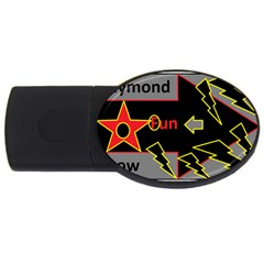 Raymond Fun Show 2 2Gb USB Flash Drive (Oval)