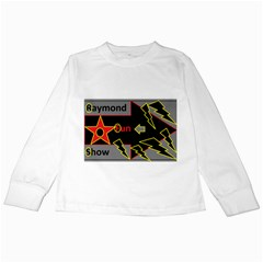 Raymond Fun Show 2 White Long Sleeve Kids'' T-shirt