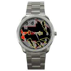 Raymond Fun Show 2 Stainless Steel Sports Watch (Round)