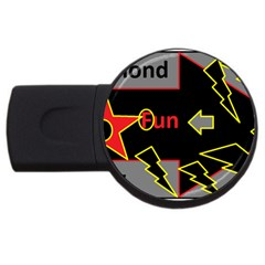 Raymond Fun Show 2 4Gb USB Flash Drive (Round)