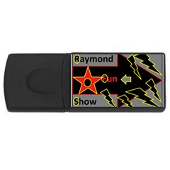 Raymond Fun Show 2 4Gb USB Flash Drive (Rectangle)