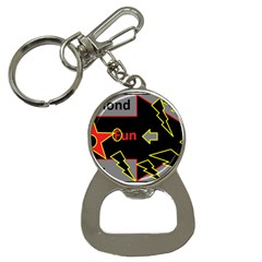 Raymond Fun Show 2 Key Chain With Bottle Opener