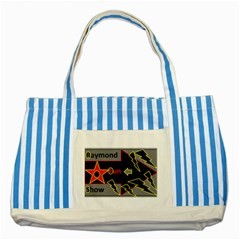 Raymond Fun Show 2 Blue Striped Tote Bag