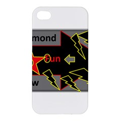 Raymond Fun Show 2 Apple Iphone 4/4s Hardshell Case