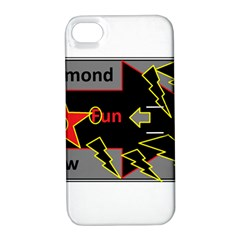 Raymond Fun Show 2 Apple iPhone 4/4S Hardshell Case with Stand