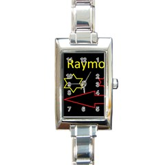 Raymond Tv Classic Elegant Ladies Watch (rectangle)