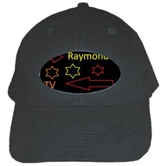 Raymond Tv Black Baseball Cap