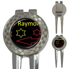 Raymond Tv Golf Pitchfork & Ball Marker