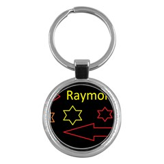 Raymond Tv Key Chain (round)