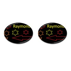 Raymond Tv Oval Cuff Links