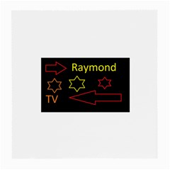 Raymond Tv Single Sided Large Glasses Cleaning Cloth