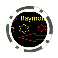 Raymond Tv Poker Chip