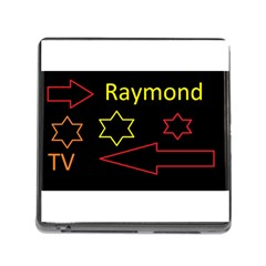 Raymond Tv Card Reader with Storage (Square)