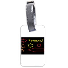 Raymond Tv Single Sided Luggage Tag