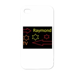 Raymond Tv White Apple iPhone 4 Case