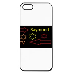 Raymond Tv Apple Iphone 5 Seamless Case (black)